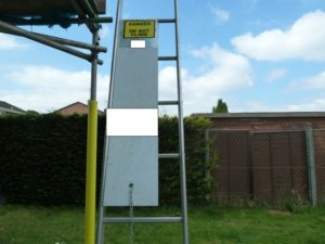Contractor fined after 12 year old falls at unsecured site