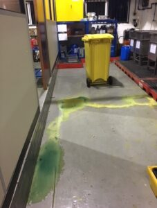 Fine after employees exposed to chemical spill
